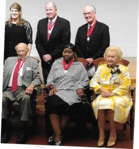 Red Jacket Award Honorees